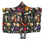 Edible Mushroom Hooded Blanket 3905