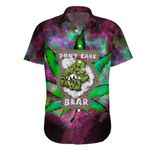 Ligerking™ 420 Don't Care bear Short Sleeve Shirt HD01667