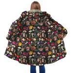Forest Mushroom Hooded Coat 3905