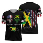 Ligerking™ Jamaica My Blood T-Shirt HD03374