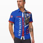 Ligerking™ Puerto Rico Shirt Short Sleeve 03284