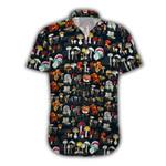 Ligerking™ Mushroom Short Sleeve Shirt  3901