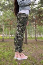 Green Forest Camo Mushroom Leggings 3917