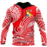 Ligerking™ Polynesian Hoodie  3D all over print HD04840