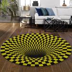 Ligerking™ Rug Geometric 3D Yellow HD03460