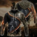 Ligerking™ Veteran Hoodie 3D All Over Print HD05208