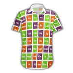 Ligerking™ 420 Periodic Table of Strains Short Sleeve Shirt  HD03410