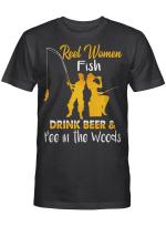 Ligerking™ Reel Women Fish, Drink Beer & Pee In The Woods