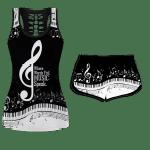 Ligerking™ Music Tank Top, Shorts 3D All Over Print HD04886