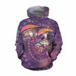 Purple Mushroom Hoodie 3915