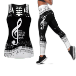 Ligerking™ Music Tank Top, Leggings 3D All Over Print HD04886