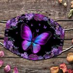 Ligerking™ Butterfly Cloth Face Coverings HD04765