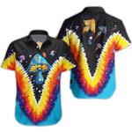 Ligerking™ Mushroom Short Sleeve Shirt, Beach Shorts HD04717