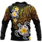Ligerking™ Polynesian Tattoo Turtle Hoodie  3D all over print HD04839