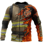 Ligerking™ FireFighter Hoodie HD04983