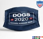 Ligerking™ Dog Hate People Face Mask 05245