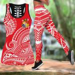 Ligerking™ Polynesian Tank Top Leggings 3D All Over Print HD04840