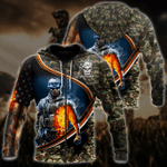 Ligerking™ Veteran Hoodie 3D All Over Print HD05207