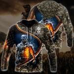 Ligerking™ Veteran Hoodie 3D All Over Print HD05207