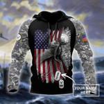 Ligerking™ Veteran Hoodie 3D All Over Print HD05204