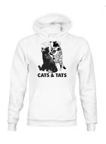 Ligerking™ Cats & Tats Hoodie