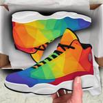 Ligerking™ LGBT Rainbow Air Jodan 13 HD05303