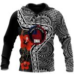 Ligerking™ Polynesian Samoa Tattoo Hoodie 3D all over print HD04845
