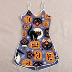 Ligerking™ Halloween Jumpsuit for Women HD05424
