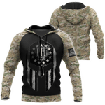 Ligerking™ Veteran Hoodie 3D All Over Print HD05200