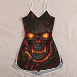 Ligerking™ Skull Jumpsuit for Women HD05444