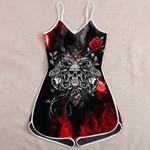 Ligerking™ Skull Jumpsuit for Woman HD05615