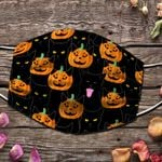 Ligerking™ Halloween Black Cat Cloth Face Coverings HD05015