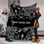 Ligerking™ Skull Fleece Blanket HD05743