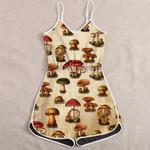 Ligerking™ Mushroom Vintage Jumpsuit HD05512