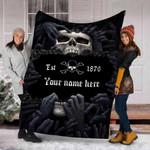 Ligerking™ Skull Fleece Blanket HD05768