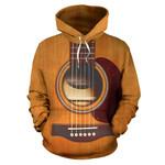 Ligerking™ Wooden Guitar Hoodie  3D all over print HD05692