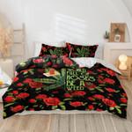 Ligerking™ Rose Or Weed 3D Bedding Set HD05300-2