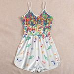 Ligerking™ Colorful Music Notes  Jumpsuit HD05687