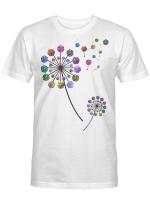 Ligerking™ unisex shirt for DND lovers dice dandelion HD05405