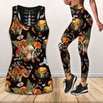 Ligerking™ Butterfly Mushroom Tank Top, Leggings 3D All Over Print HD05353