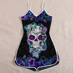 Ligerking™ Skull And Butterfly Jumpsuit HD05616