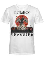 Ligerking™ Halloween shirt for DND lovers dungeon meowster HD05396
