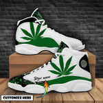 Ligerking™ 420 Weed Leaf Personalized Sneaker HD05748