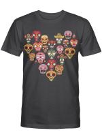 Ligerking™ Mexican Sugar Skull  HD05945