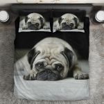 Ligerking™ Pug Dog 3D Bedding Set HD05703