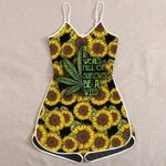 Ligerking™ Sunflower Weed Jumpsuit for Woman HD05816