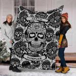 Ligerking™ Skull Fleece Blanket HD05749