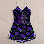 Ligerking™ 420 Purple Rose Jumpsuit HD05433