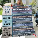 Ligerking™ Love Quotes Fleece Blanket HD06040
