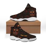 Ligerking™ Skull Lava Custom Name Sneaker HD06192